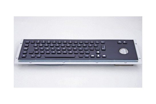 Metal keyboard RuggedKEY model RKB001-BL