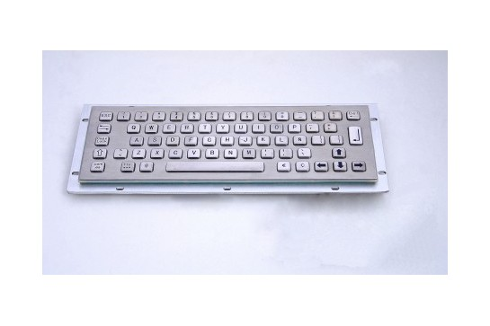 Metal keyboard RuggedKEY model RKB002