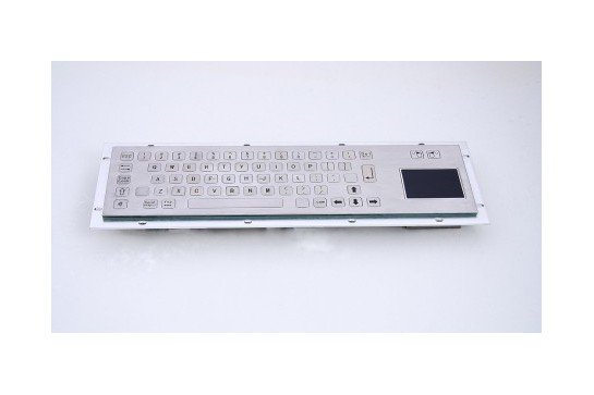 Metal keyboard RuggedKEY model RKB001T-FL