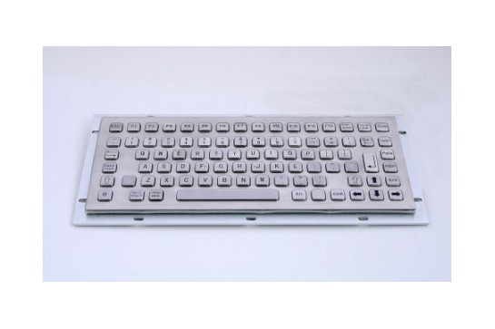 Metal keyboard RuggedKEY model RKB012