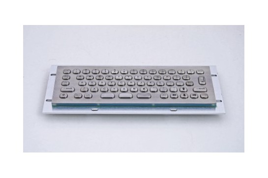 Metal keyboard RuggedKEY model RMKB701