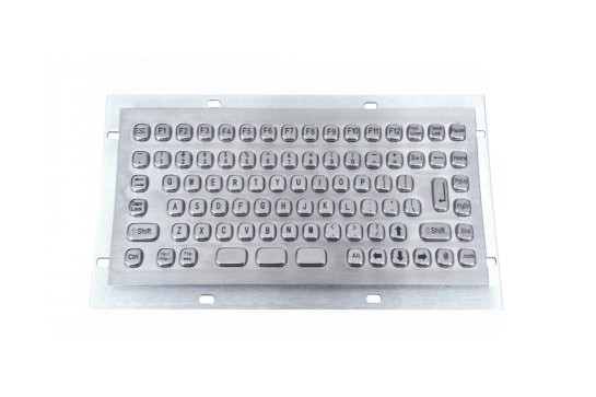 Metal keyboard RuggedKEY model RMKB702