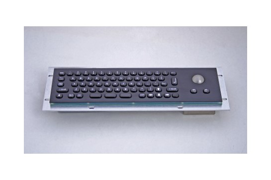 Metal keyboard RuggedKEY model RMKB705-BL