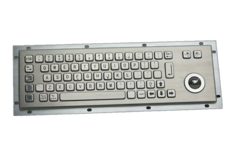 Metal keyboard RuggedKEY model RKB003