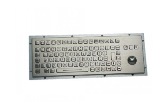 Metal keyboard RuggedKEY model RKB005-L