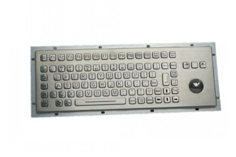 Metal keyboard RuggedKEY model RKB005-L