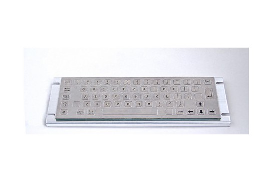 Metal keyboard RuggedKEY model RKB008