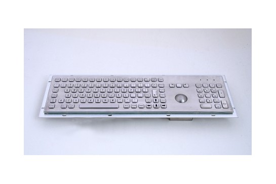 Metal keyboard RuggedKEY model RKB005K