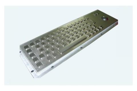 Metal keyboard RuggedKEY model RKB007