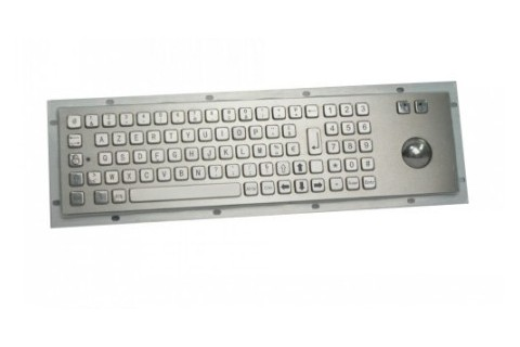 Metal keyboard RuggedKEY model RKB015