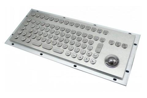 Metal keyboard RuggedKEY model RKB205