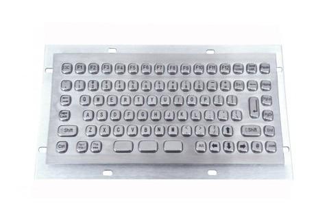 Metal keyboard RuggedKEY model RMKB702