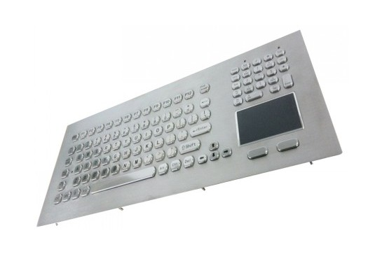Metal keyboard RuggedKEY model RKB020