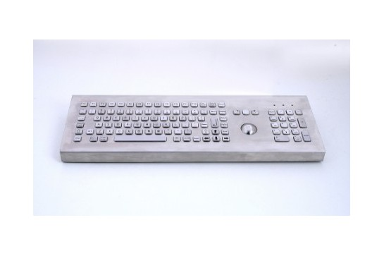 Metal keyboard RuggedKEY model RKB005K-DT
