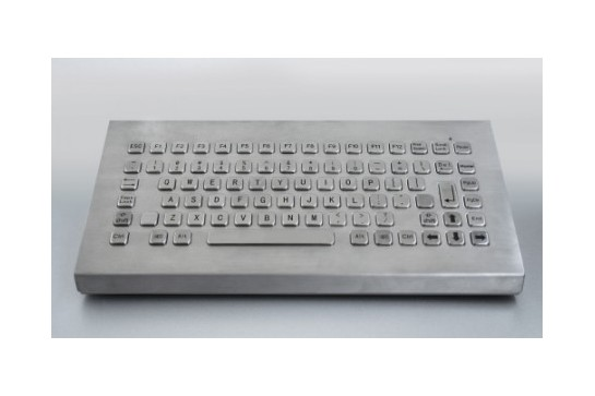 Metal keyboard RuggedKEY model RKB-CA6