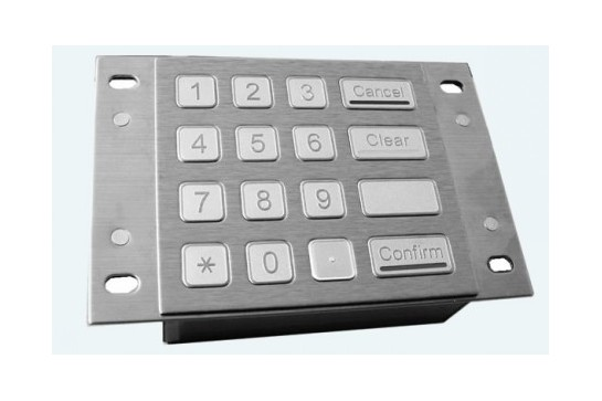 Metal keypad RuggedKEY model RKP900