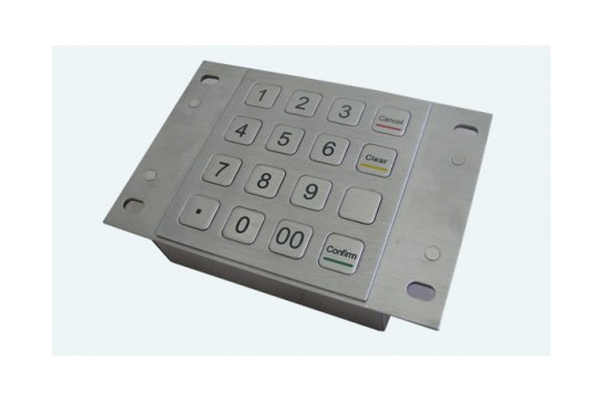 Metal keypad RuggedKEY model RKP901