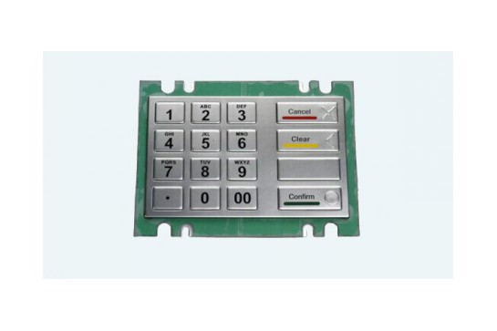 Metal keypad RuggedKEY model RKP902
