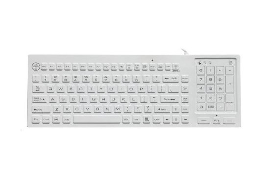 RuggedKEY silicone keyboard model RSK318-BL