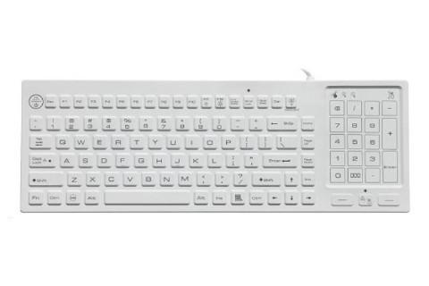RuggedKEY silicone keyboard model RSK318-BL