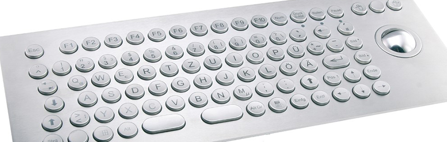 Metal keyboards